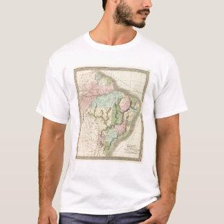 T-shirt Le Brésil avec la Guyane, et le Paraguay