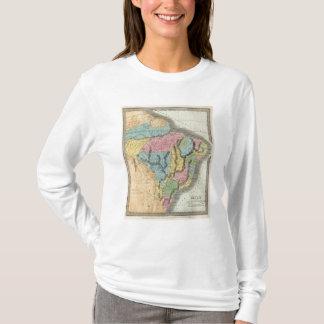 T-shirt Le Brésil avec la Guyane et le Paraguay