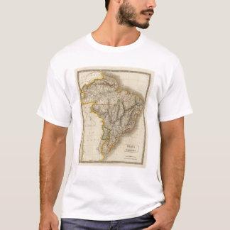 T-shirt Le Brésil et le Paraguay