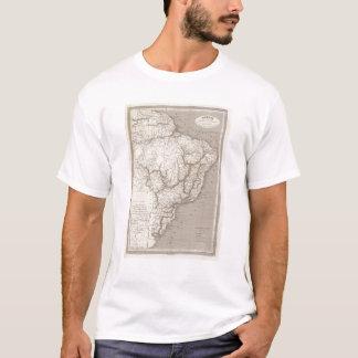 T-shirt Le Brésil, le Paraguay, et l'Uruguay