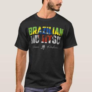 T-shirt Le Brésilien Jiu-Jitsu (BJJ) poursuivent la