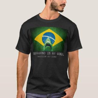 T-shirt Le Brésilien Jiu Jitsu de BJJ la terre est mon
