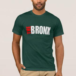 T-shirt Le BRONX_LOGO_png white&red - customisé