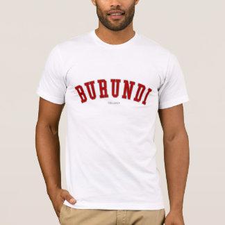 T-shirt Le Burundi