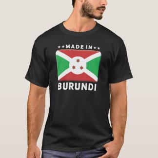 T-shirt Le Burundi a fait