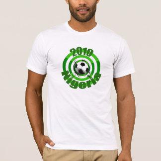 T-shirt Le but 2010 du football du Nigéria entoure la