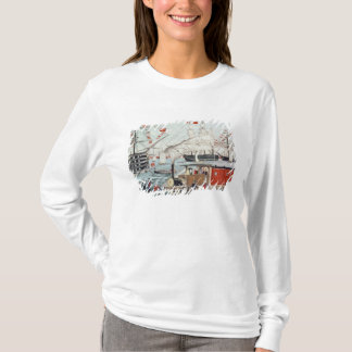 T-shirt Le cadeau de Perry de commodore d'un chemin de fer