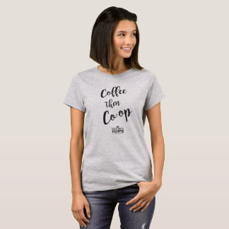 T-shirt Le café enferment alors