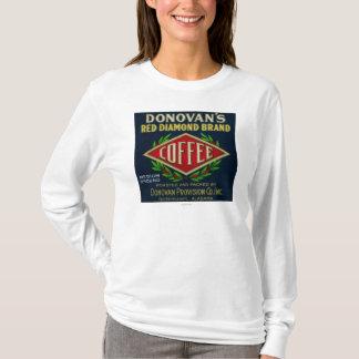 T-shirt Le café LabelBirmingham, AL de Donovan