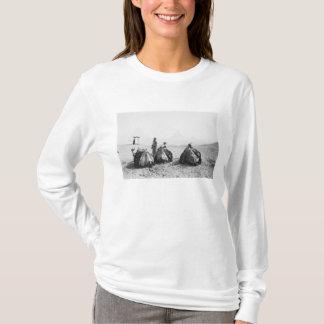 T-shirt Le Caire pyramides d'Egypte, Gizeh de jockeys de
