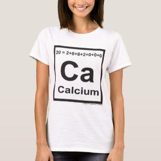 T-shirt Le calcium d'élément