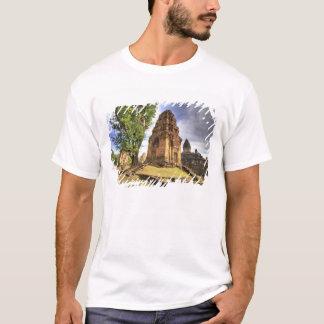 T-shirt Le Cambodge, Angkor Vat. Vue de temple de Bakong