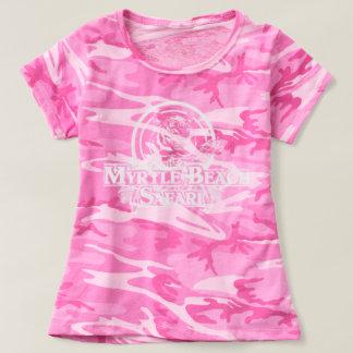 T-shirt Le camo T - ROSE des femmes