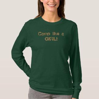 T-shirt Le camp aiment une FILLE !