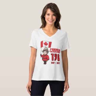 T-shirt Le Canada 150 ans d'anniversaire