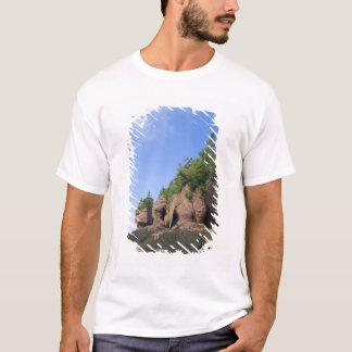 T-shirt Le Canada, Nouveau Brunswick, cap de Hopewell,