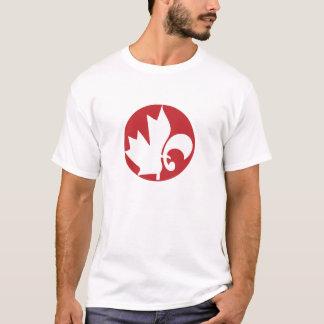 T-shirt Le Canada/Québec