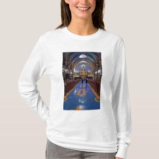 T-shirt Le Canada, Québec, Montréal. Intérieur de Notre 3