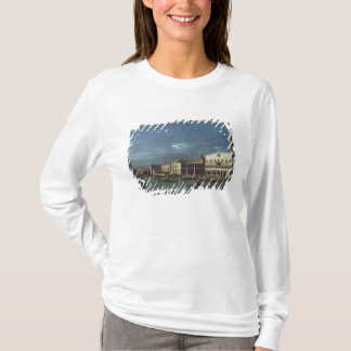 T-shirt Le canal grand avec l'église de Santa Maria