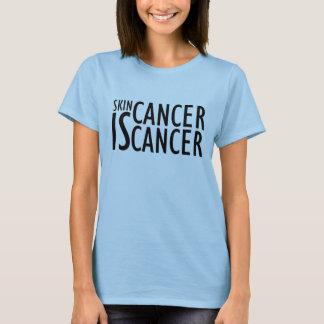T-shirt Le cancer de la peau des femmes EST chemise de