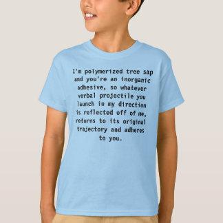T-shirt Le caoutchouc et colle Sheldon