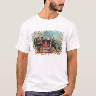 T-shirt Le car de vapeur