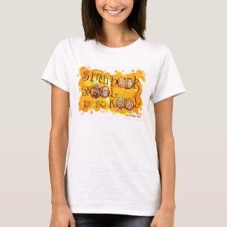 T-shirt Le carnet à dessins Skool est ainsi kool !