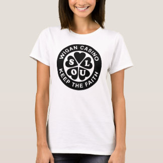 T-shirt Le casino de Wigan gardent la foi