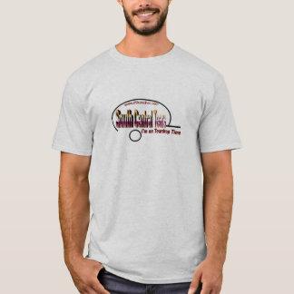 T-shirt Le central du sud déchire des hommes