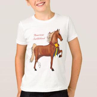T-shirt Le champion de Saddlebred d'Américain badine le