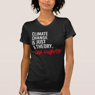 T-SHIRT LE CHANGEMENT CLIMATIQUE EST JUSTE UNE THÉORIE