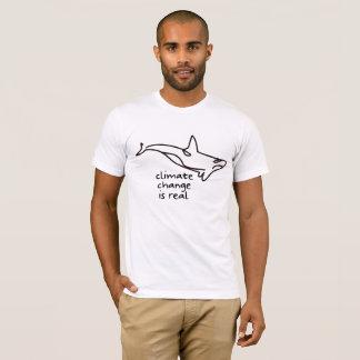 T-shirt le changement climatique est vrai ! Orque