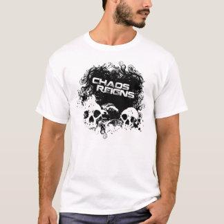 T-shirt Le chaos règne crâne