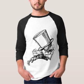 T-shirt Le chapelier fou juste comme part à la hâte
