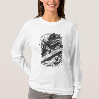 T-shirt Le charpentier, détail d'un retable