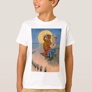T-shirt Le charpentier, le morse et les huîtres