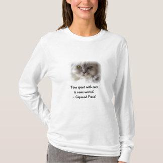 T-shirt Le chat de Freud