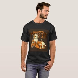 """T-shirt Le """"chat de Pavlov"""" peu tee - shirt connu d'échec"""