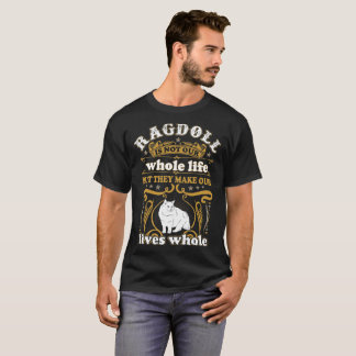 T-shirt Le chat de Ragdoll n'est pas vie entière font aux