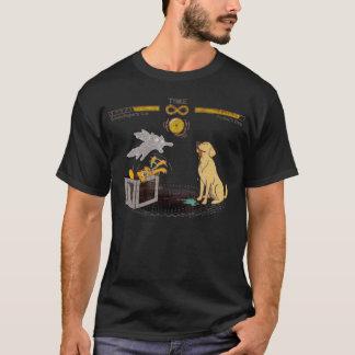 T-shirt Le chat de Schrodinger et le chien de Pavlov