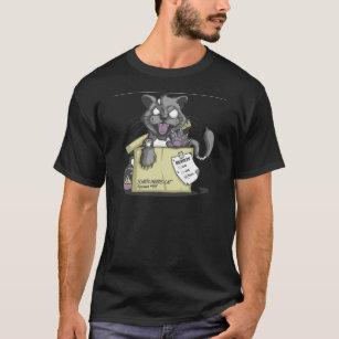 T-shirt Le chat de Schrodinger - nouveau