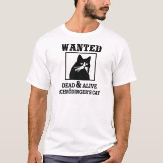 T-shirt Le chat de Schrodinger - voulu