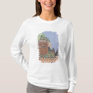 T-shirt Le château Frontenac à Québec, Canada
