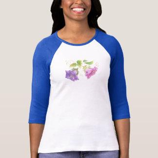 T-shirt le-chemise de jacinthes des bois
