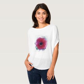 T-shirt Le chemisier #1 des femmes romantiques de pavot