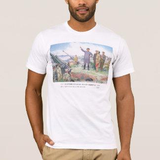 T-shirt Le cher Chef instruit les troupes.
