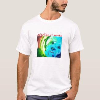 """T-shirt """"Le chien"""" (adoptions=smiles) par Sallie Douglas"""