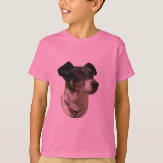 T-shirt Le chien de Jack Russell badine la chemise
