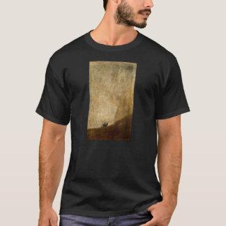 T-shirt Le chien (peintures noires) par Francisco Goya