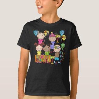 T-shirt Le chiffre de bâton badine 100 jours plus futé